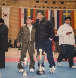 Rubén Palafox - Victor Estrada taekwondo.