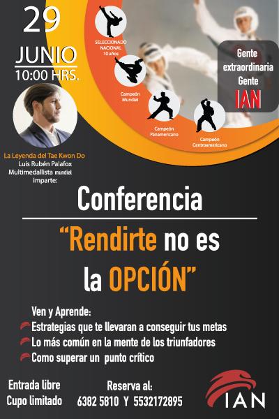 Rubén Palafox,Taekwondo, Entrenador, cach,conferencia,ponente,